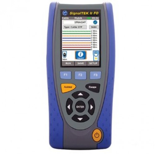 Data Cable Tester : Ideal signaltek ct r  data cable transmission tester