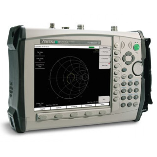Anritsu MS2034B ::: 500 kHz to 4 GHz Vector Network Analyzer & 9 kHz