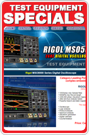 Test Equipment Winter Specials