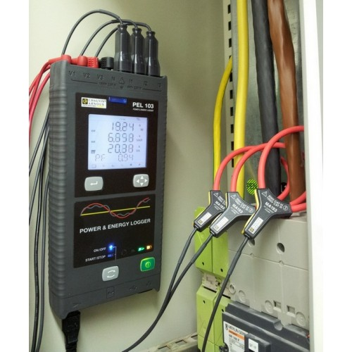 Chauvin Arnoux Pel103 Power And Energy Loggers